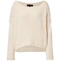 Rag & Bone - Cotton-Silk Krista Pullover in Cream