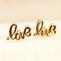 Simply Love Statement Earrings