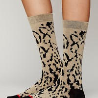 Cheetah Ankle Sock