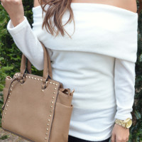 Snow Bunny Sweater: Ivory