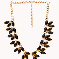 Floral Fantasy Bib Necklace
