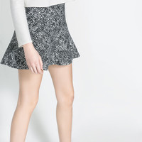 MERMAID PRINT SKIRT