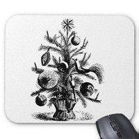 The Christmas Tree Mousepad