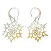 Mother of Pearl Snowflake - Buddha Jewelry Organics