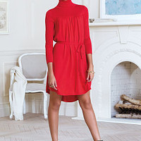 Knit Turtleneck Dress - A Kiss of Cashmere - Victoria's Secret