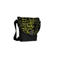 Through My Enemies Eyes Rickshaw Messenger Bag