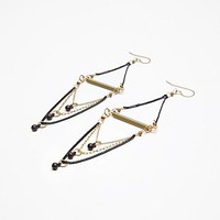 Triple Drop Statement Earring