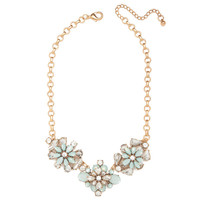 Seafoam Blossom Necklace