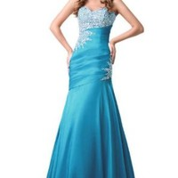 Sunvary Mermaid Long Evening Formal Dress Bridesmaid Dress Party Gown