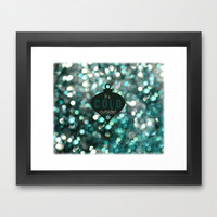 It's Cold Outside! Framed Art Print by RDelean