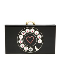 CHARLOTTE OLYMPIA | Telephone Pandora Clutch Bag | Browns fashion & designer clothes & clothing