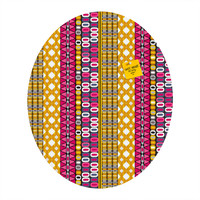 Sharon Turner Delineation Oval Magnet Board