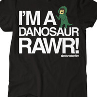 Danosaur (Black) - danisnotonfire - Official Online Store on District LinesDistrict Lines