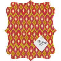 Sharon Turner Party Boardwalk Ikat Quatrefoil Magnet Board