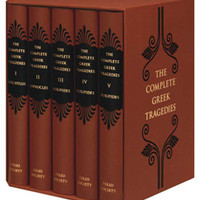 The Complete Greek Tragedies | Folio Illustrated Book