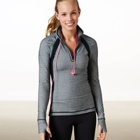 AEO PERFORMANCE HALF-ZIP POP OVER