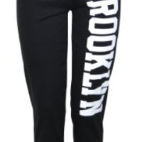 Womens High Waisted Brooklyn Cuffed Joggers (Mtc) (4/6 (uk 8/10), Black)