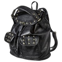 Target Limited Edition Backpack Handbag with Gold Studs - Black