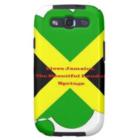 I Love Jamaica. The Beautiful Land of Springs Galaxy S3 Cases
