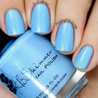 I'd Rather Be With Blue Nail Polish - 0.5 oz Full Sized Bottle