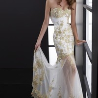 Jasz Couture Dress 5089 at Peaches Boutique
