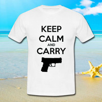 Keep Calm and Carry - tshirt S,M,L,XL