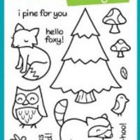 Critters In The Forest Clear Stamp Set (Lawn Fawn)