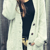 sirenlondon — Covet Cable Cardigan