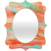 Rosie Brown Sunset Sky Quatrefoil Mirror