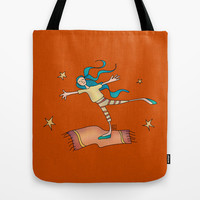 Freedom Tote Bag by Carina Povarchik