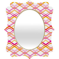 Heather Dutton Intersection Bright Quatrefoil Mirror