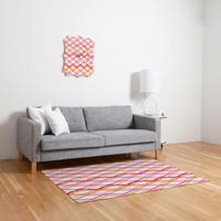 Heather Dutton Intersection Bright Woven Rug