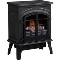 Walmart: Quality Craft Antique Electric Stove Heater, Matte Black