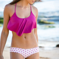 The Girl and The Water - Tori Praver 2014 - Gina Bikini Top / Orchid - $110