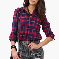 Burlington Plaid Button Down