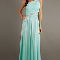 One Shoulder Temptation Evening Gown 1003