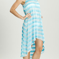 Vibrant Stripe Tank Dress - VS-089