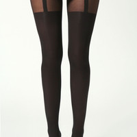 Hannah Mock Suspender Tights