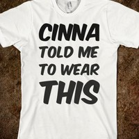 Cinna Told Me To Wear This