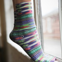 Crazy Eights Ankle Sock