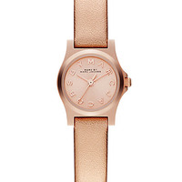 Rose Goldtone Stainless Steel Metallic Watch