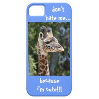 Baby Giraffe, don't hate me because i'm cute!!