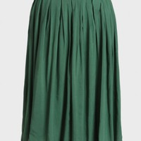 Southern Blossom Skirt In Green
