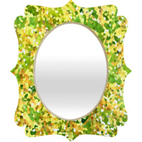Rosie Brown Botanical Garden Quatrefoil Mirror