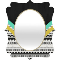 Allyson Johnson Mixed Aztec 1 Quatrefoil Mirror