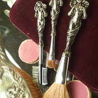 LOVE DISARMED COSMETIC BRUSHES (SET OF 3)