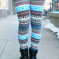 Silent Night Leggings