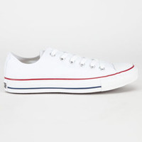 Converse Chuck Taylor All Star Low Mens Shoes Optic White  In Sizes