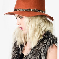 About Town Fedora Hat