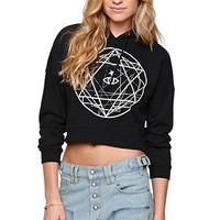 LA Hearts Cropped Pullover Fleece at PacSun.com